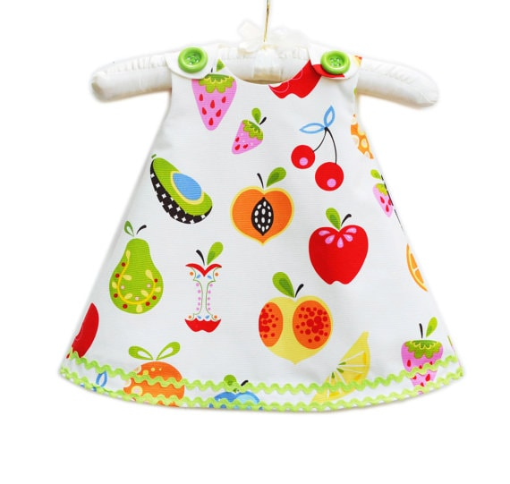 Adorable Fruit Dress