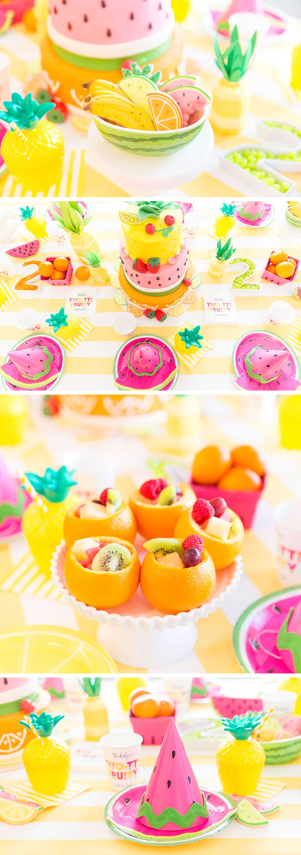 Fruity Birthday Party! Details and photos!