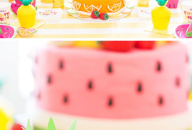Two-tti Fruity Birthday Party: Blakely Turns 2!