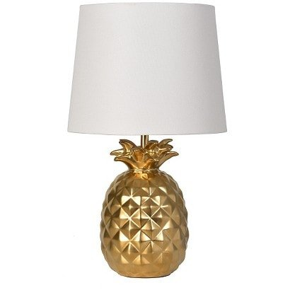 Pineapple Lamp! In gold and white!