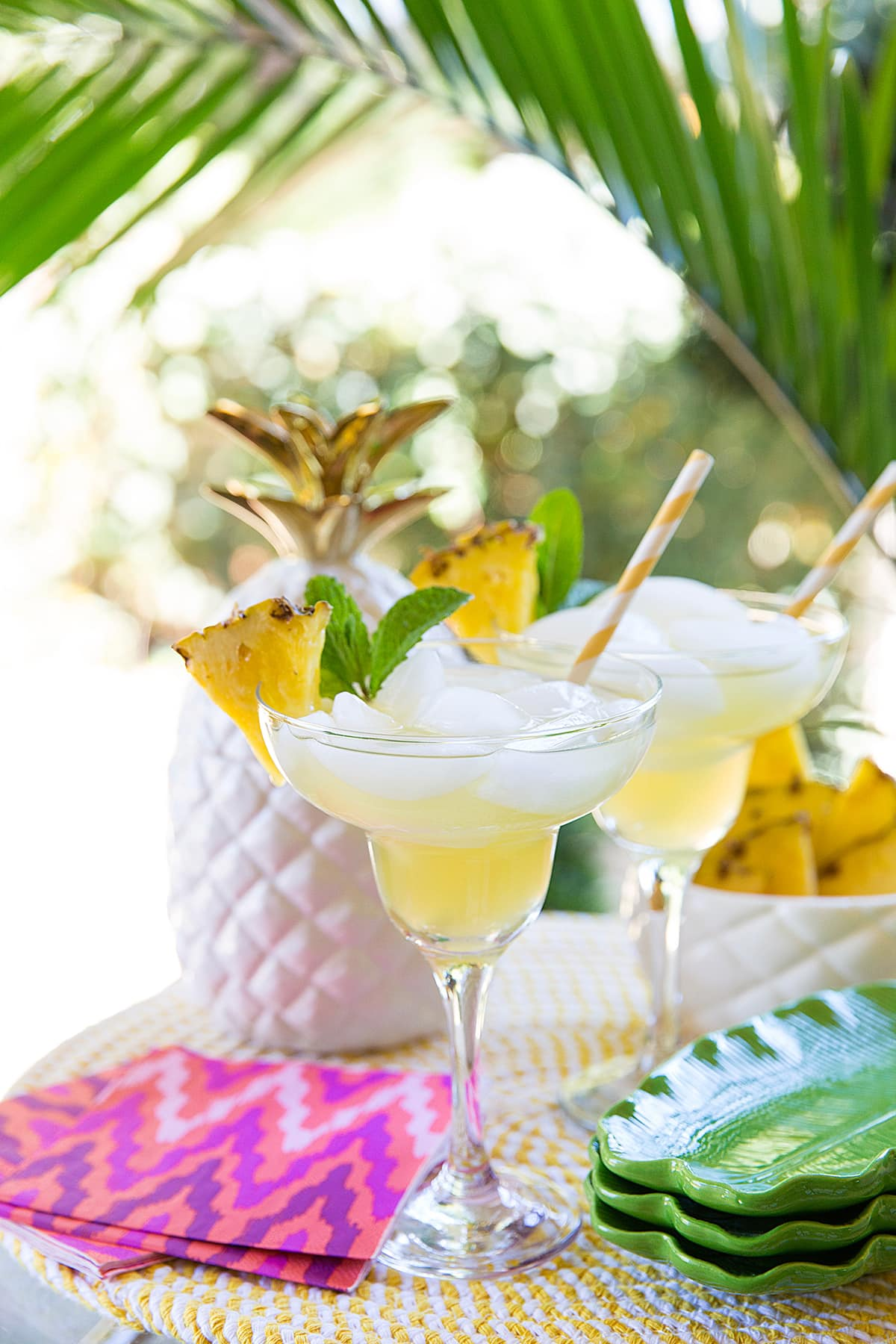Sip sip hooray! Pineapple Margarita Recipe