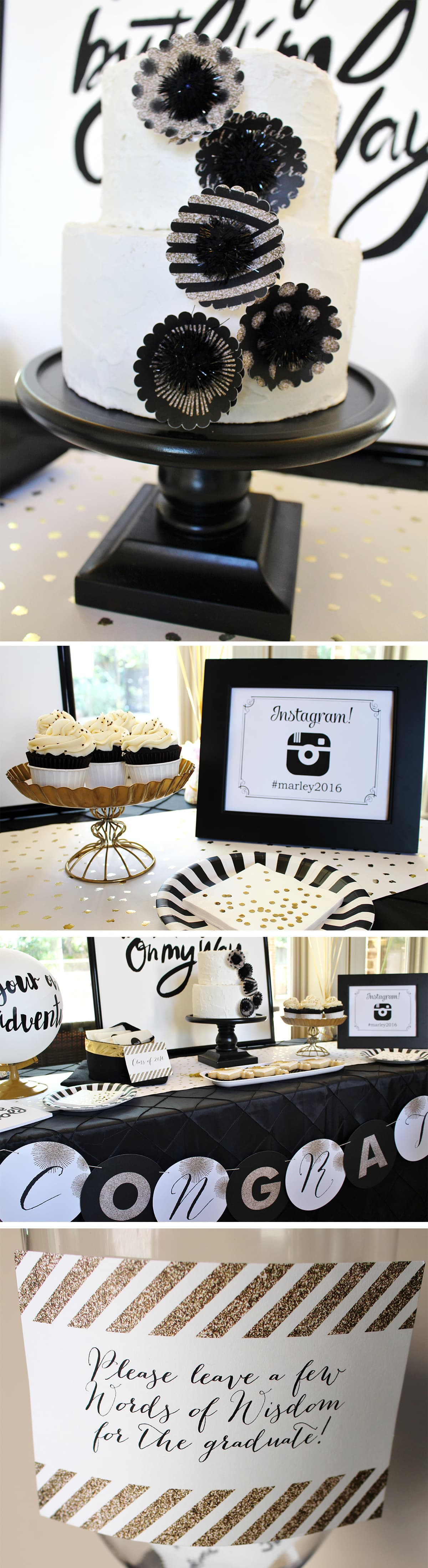 Stylish Graduation Party Details!