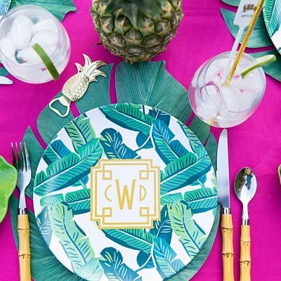Palm Beach Chic - Style a party for your girlfriends!