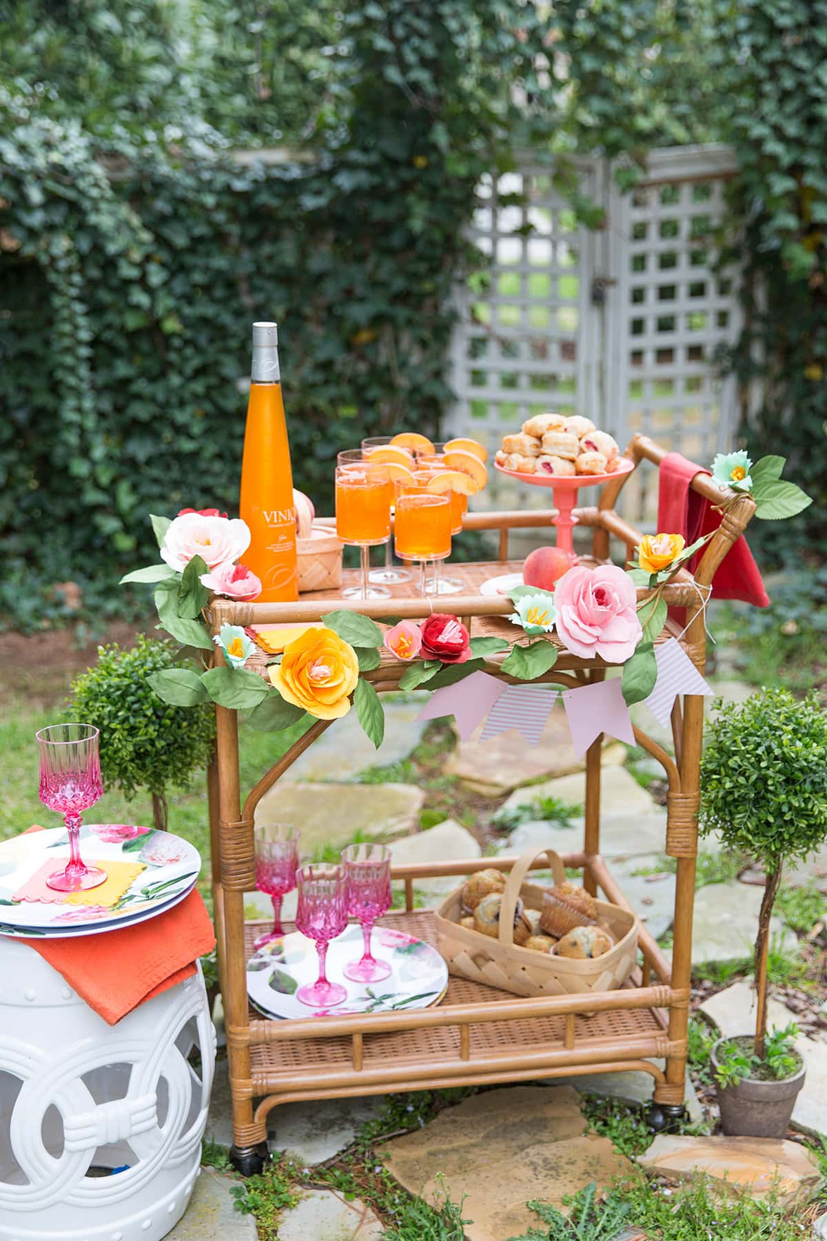 Host a Spring Bar Cart Brunch, All the tips + ideas here!