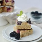 Delicious Blackberry Pie Bars, Perfect summer treat!