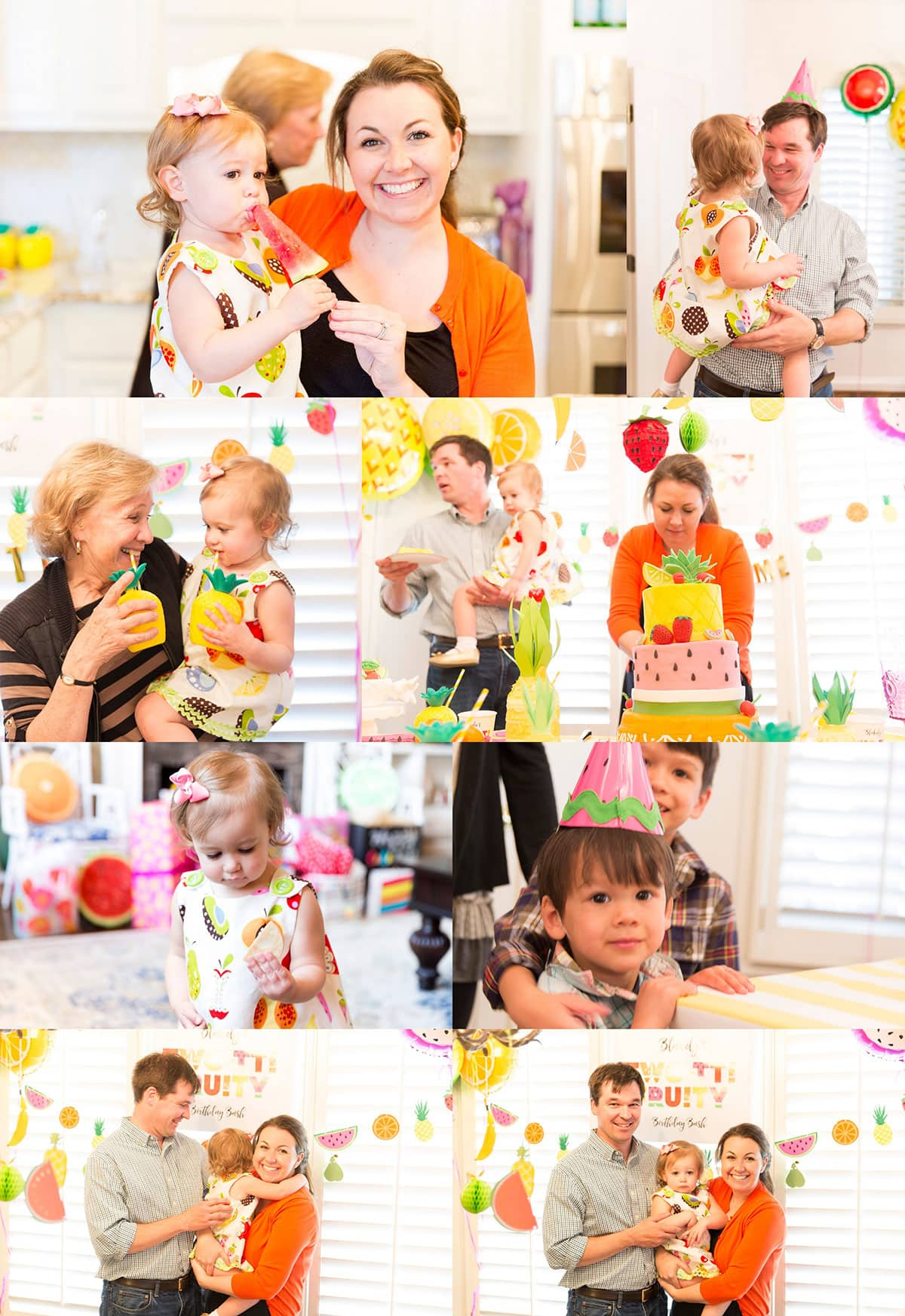Two-tti Fruity Birthday Party