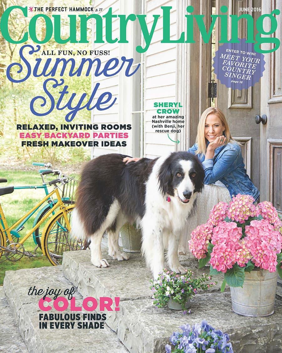 Country Living Magazine June 2016