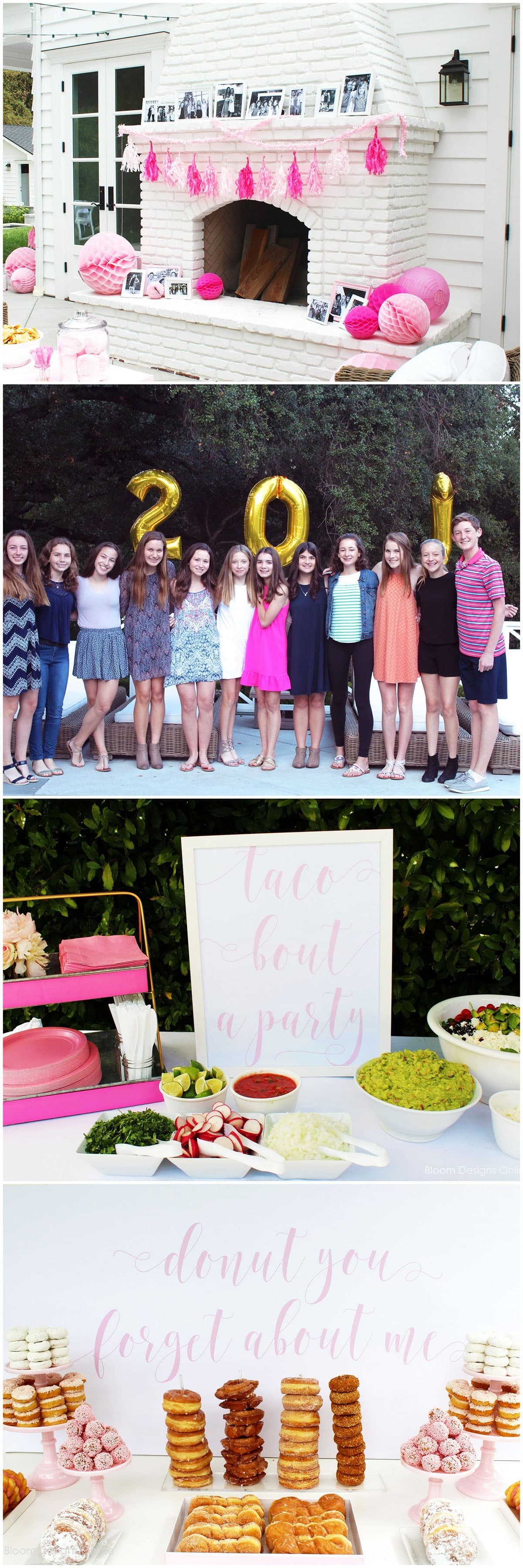 Donut You Forget About Me | Cutest Graduation Party Idea!