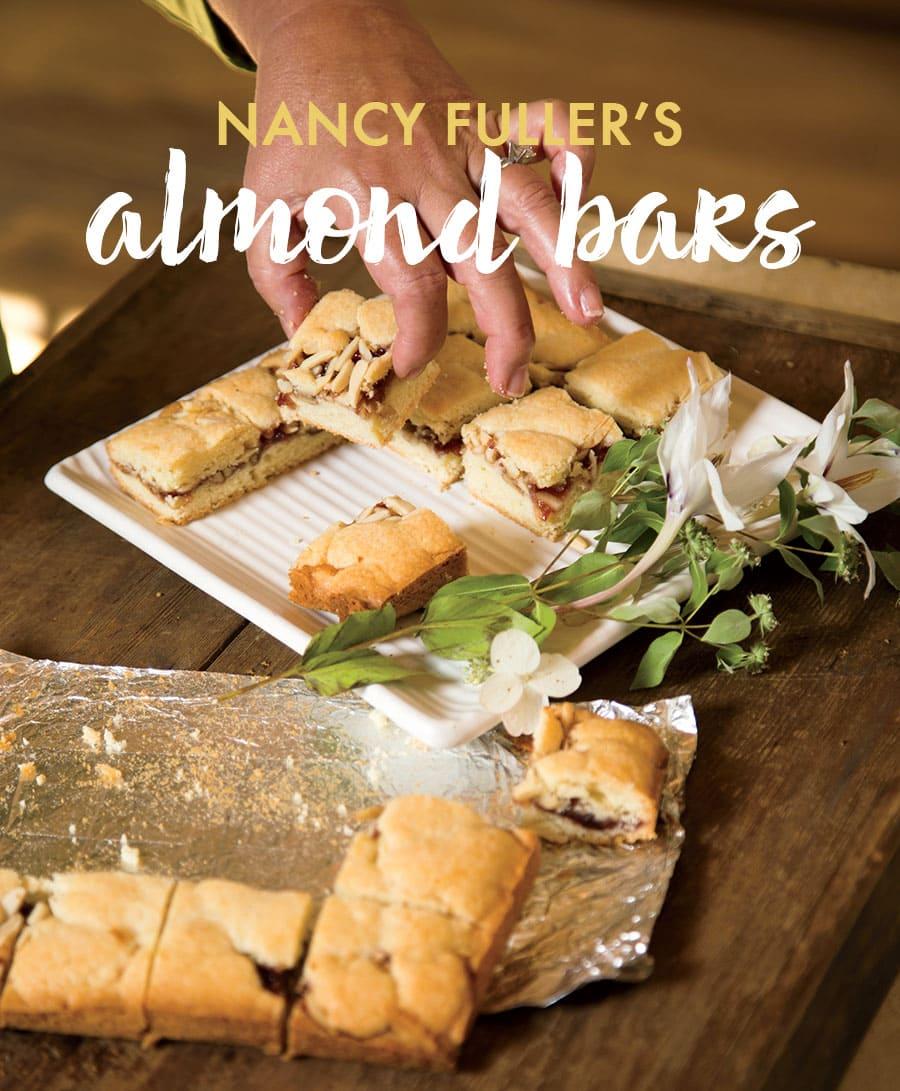 Nancy Fuller's Almond Bars, perfect treat!