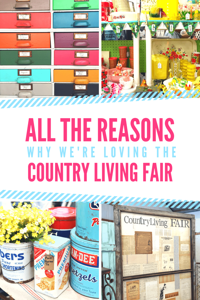 Don't miss the Country Living Fair, get dates, tips, and a recipe from Nancy Fuller!