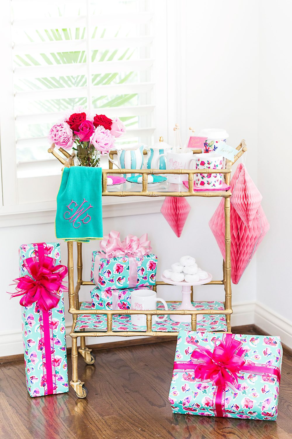 Pretty Party Cart by Pizzazzerie for ABD