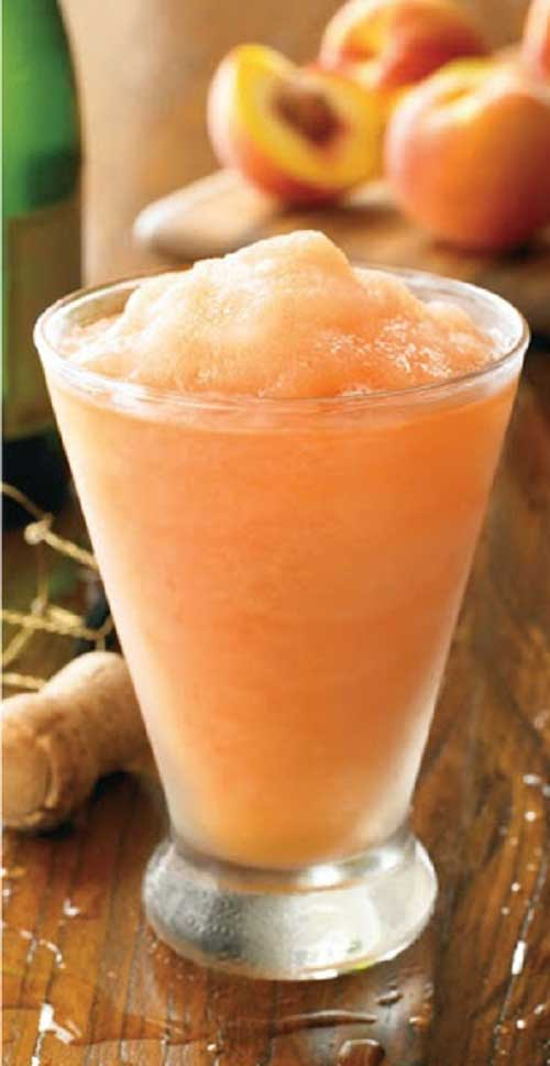 Peach Cocktails - Peach Bellini