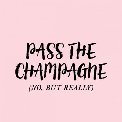 Pass the Champagne (no but really) ---- Desktop Background