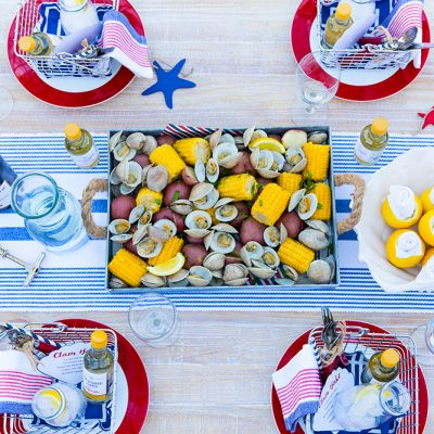 July 4th Clam Bake Party