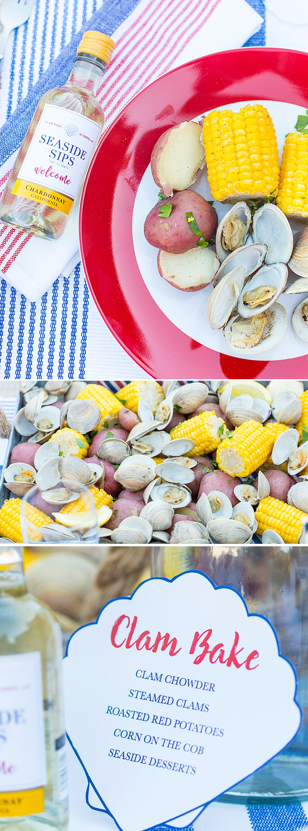 4th of July Themed Clam Bake!