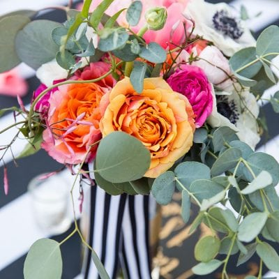 Gorgeous Kate Spade inspired wedding bouquet!