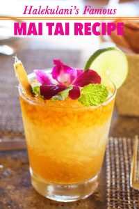 Halekulani's Famous Mai Tai Recipe from Hawaii!