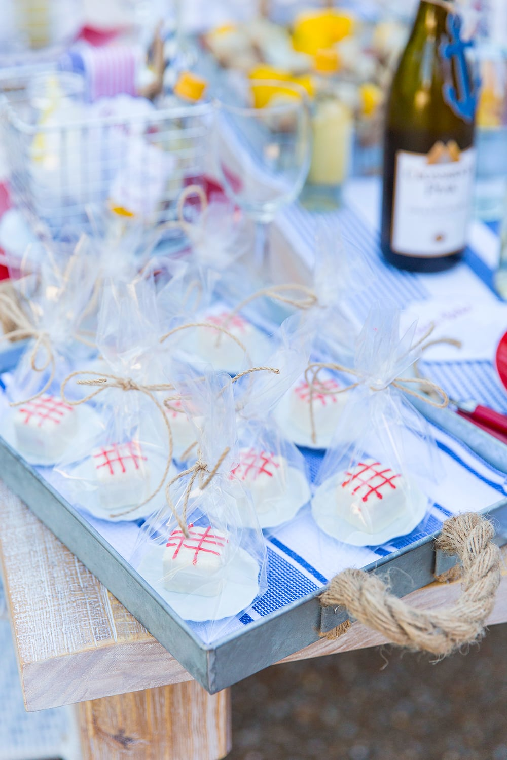 Mini Clam Bake Party Favors