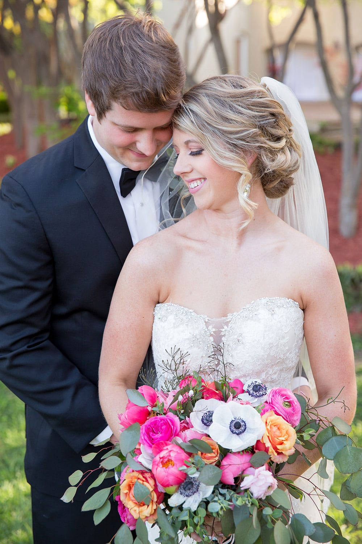 Gorgeous pink peony wedding bouquet!