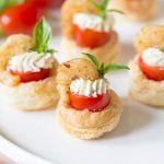 Shrimp & Tomato Pastry Tartlet | Favorite Appetizer Recipe