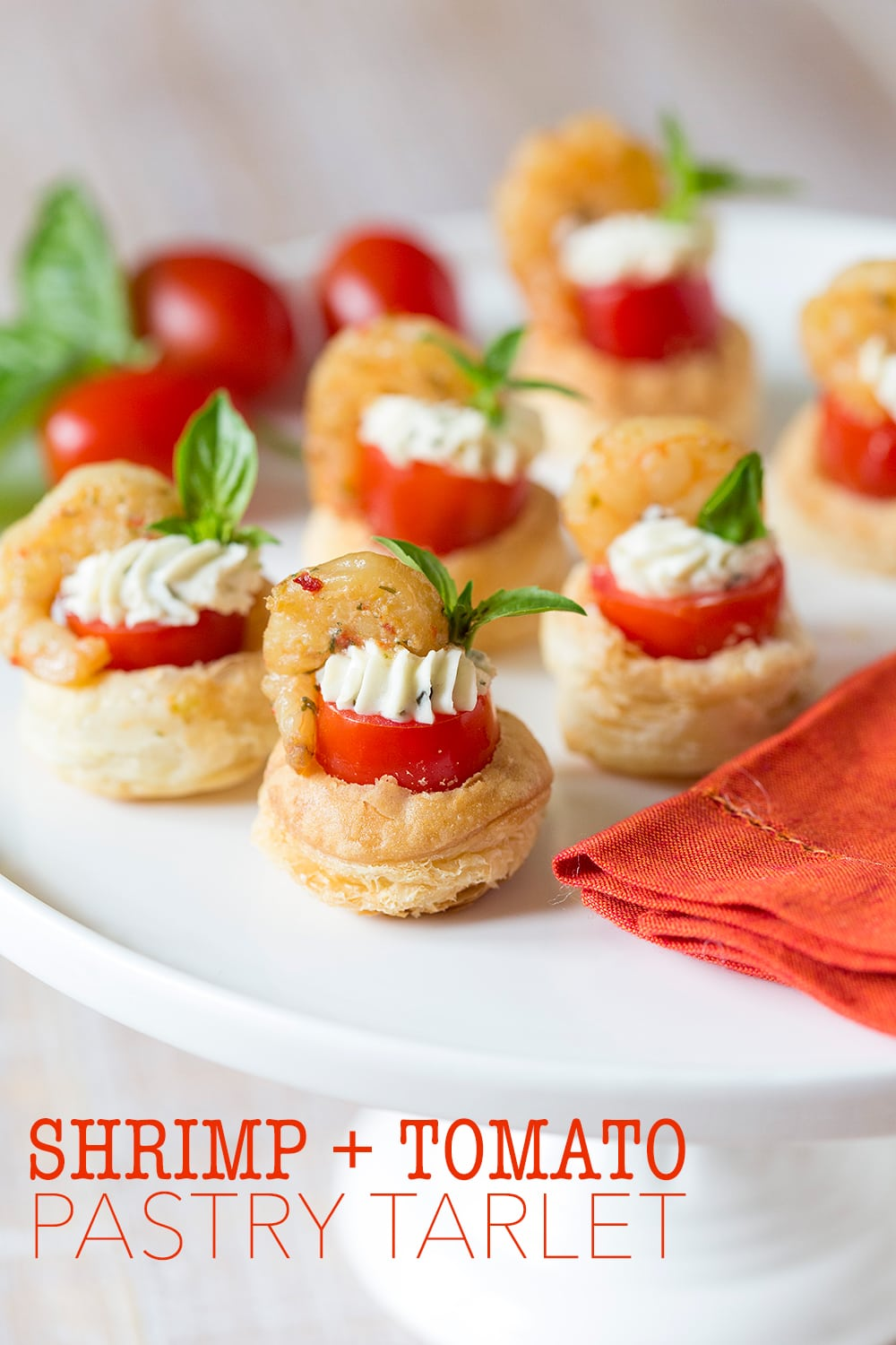 Easy Party Recipe | Shrimp & Tomato Pastry Tarlet