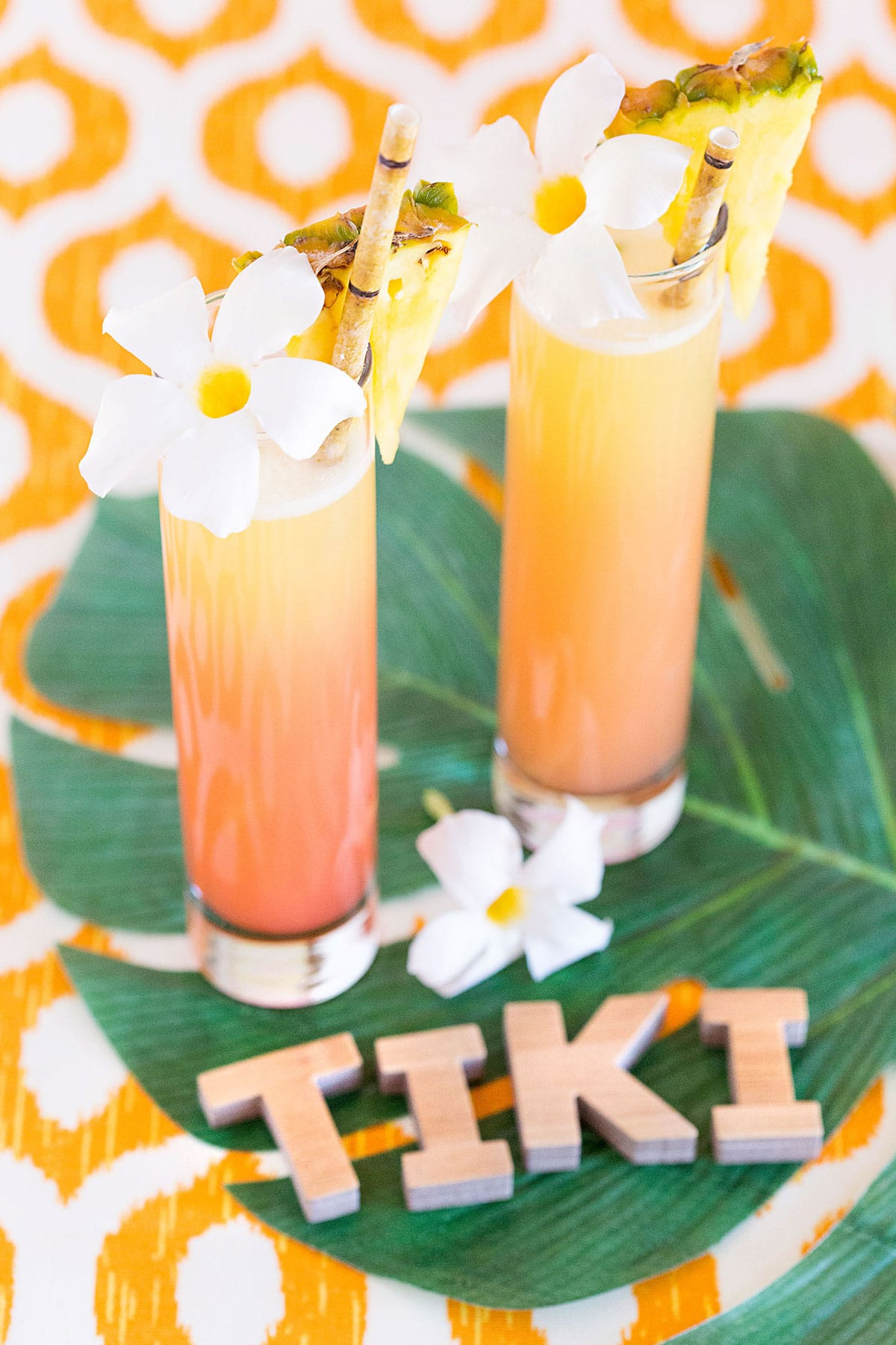 Tiki Sunrise Cocktail
