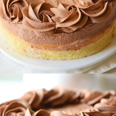The BEST Yellow Cake Recipe w/ Fudge Frosting! Great for birthday cakes!