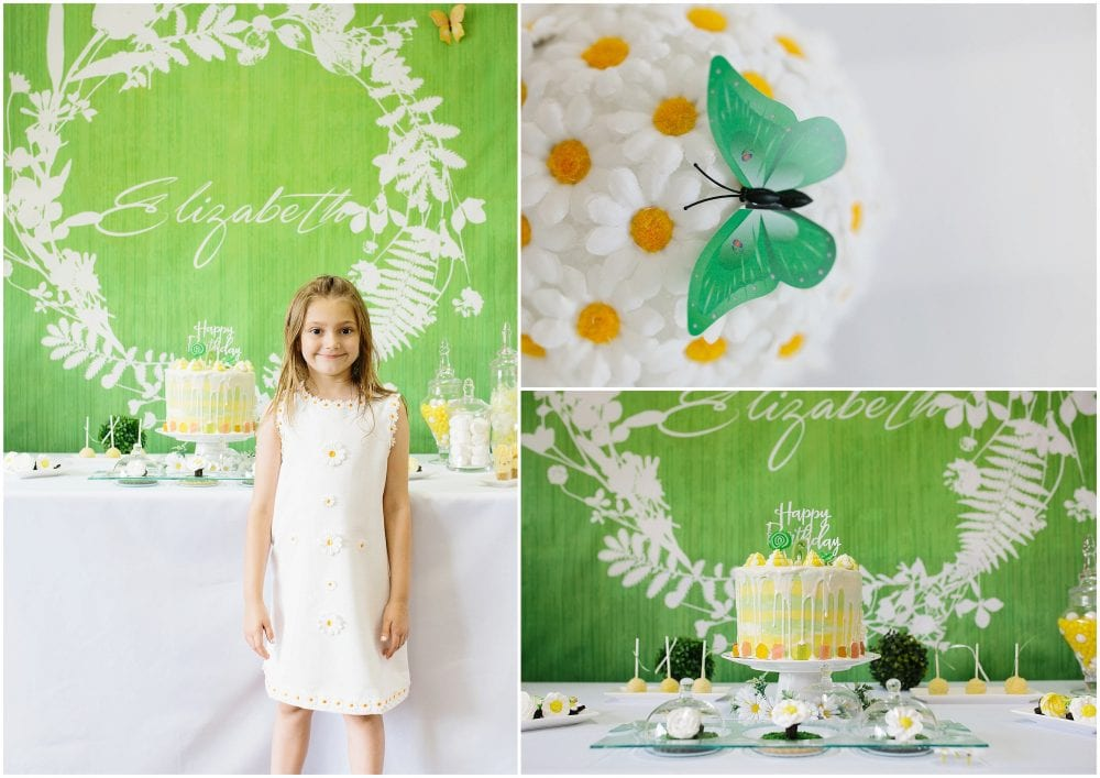 Cute Daisy Birthday Party