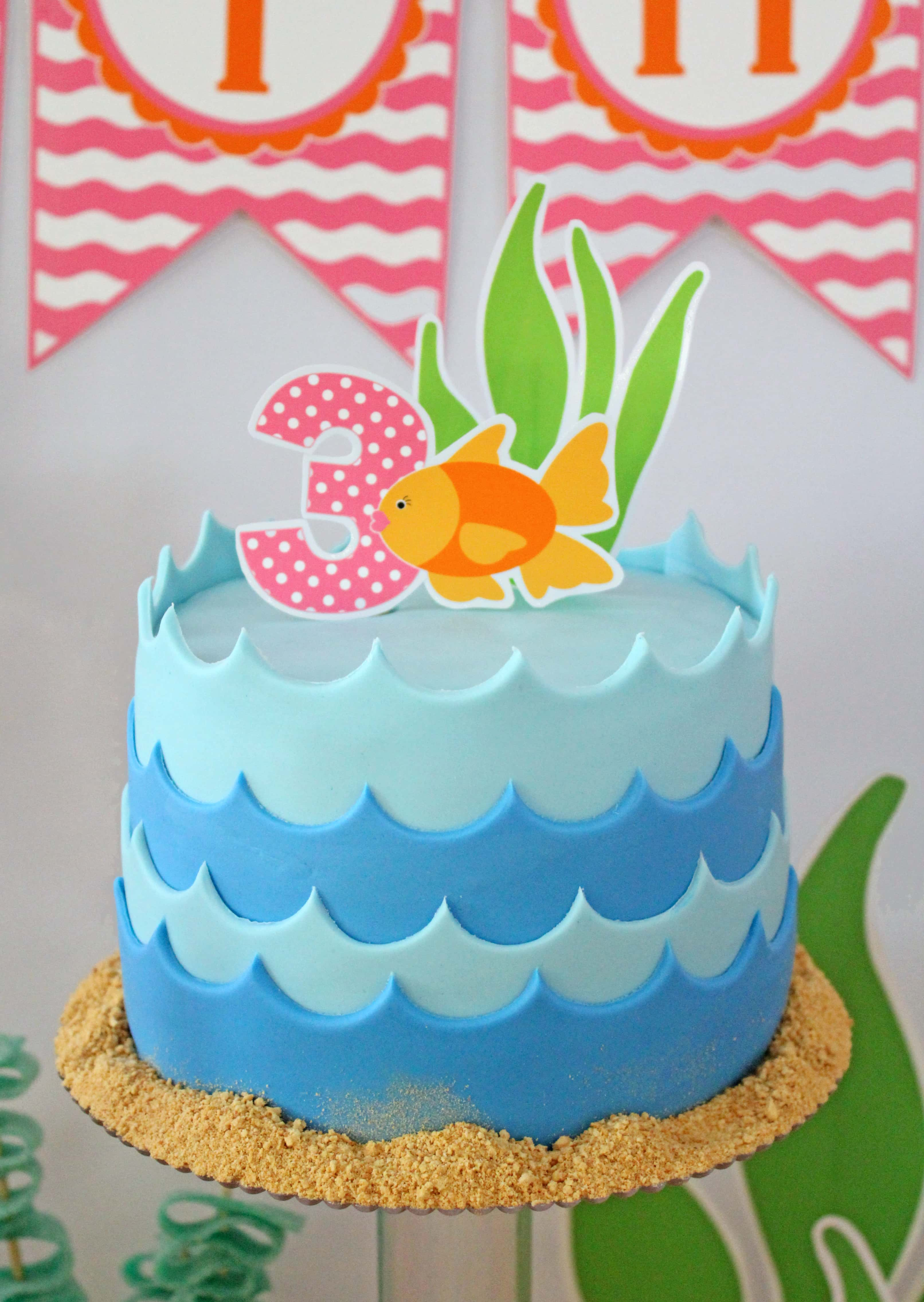 Under The Sea Party: Afton Turns 3!