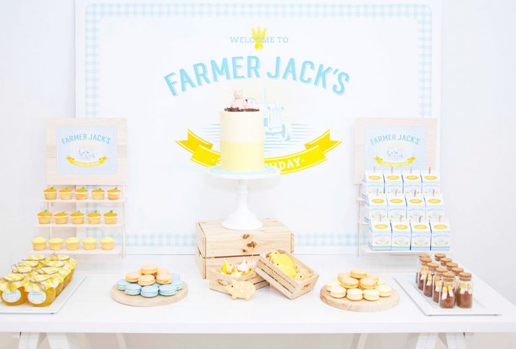 Farmer Jack's 3rd Birthday Party!