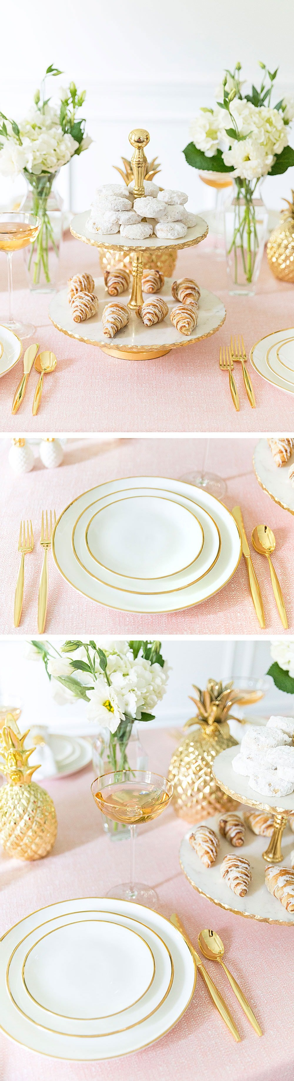 Gorgeous dreamy pink party tablescape