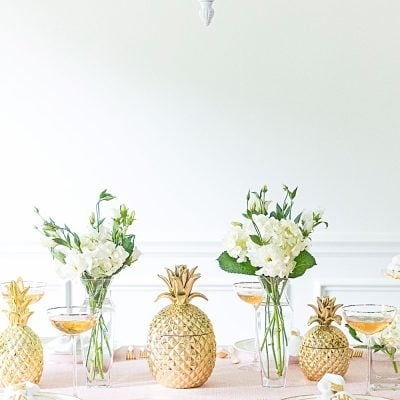 pineapple party table