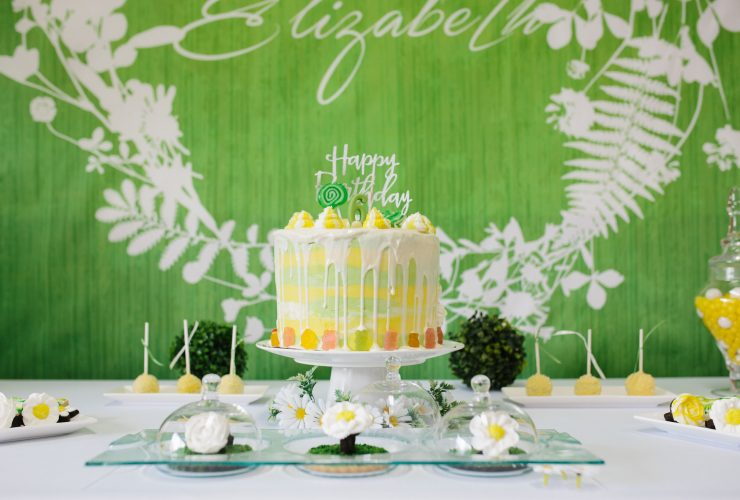 Elizabeth's White Daisy Birthday Party!