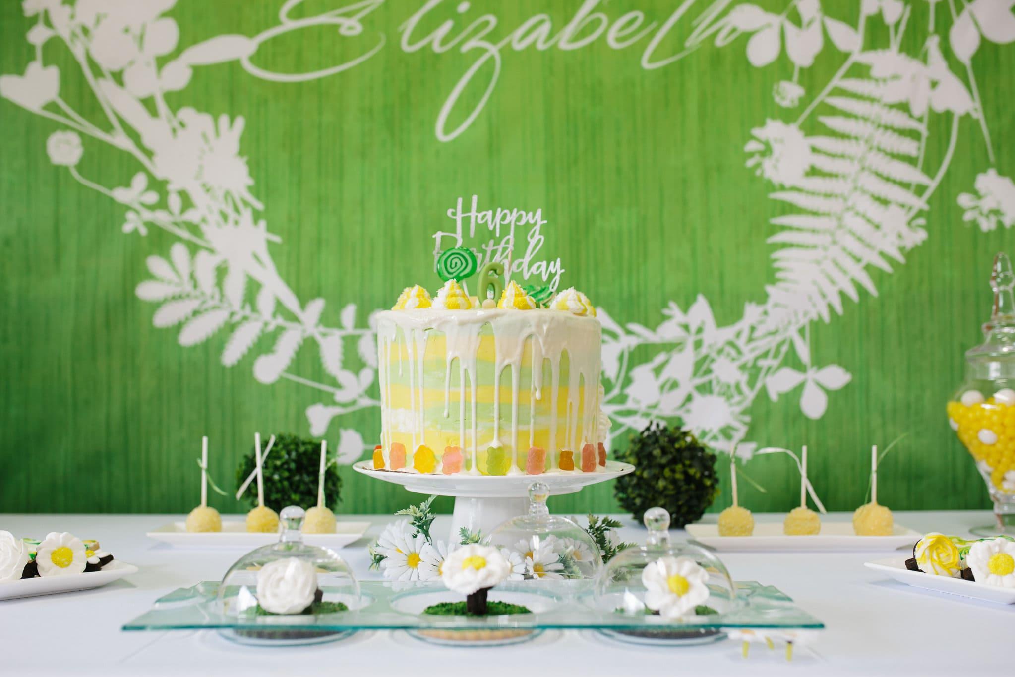 Elizabeth's White Daisy Birthday Party!