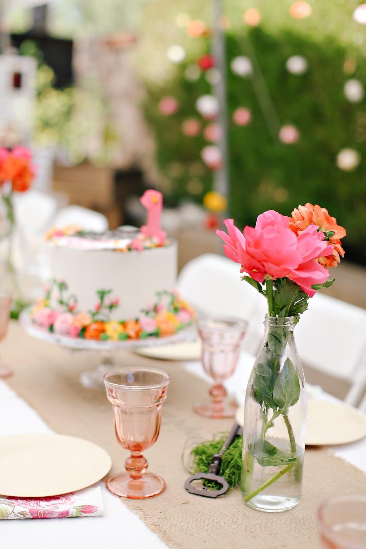 Secret Garden Themed 1st Birthday