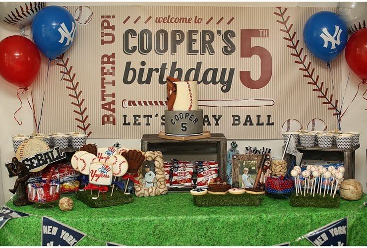 Batter Up, Cooper's Turning 5!