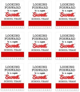 Red Sweet Back to School Tags copy