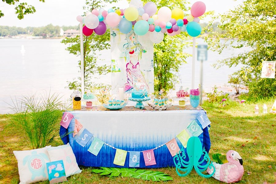 Cute Mermaid Bash 5th Birthday Party!