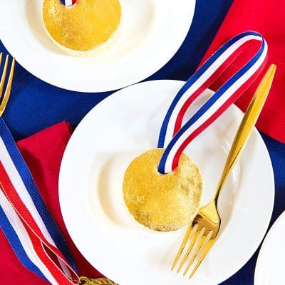 Mini Gold Medal Cakes