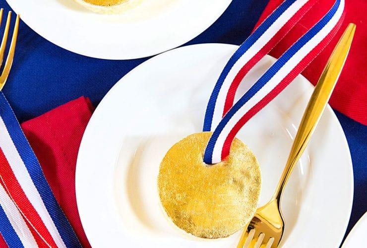 Mini Gold Medal Cakes