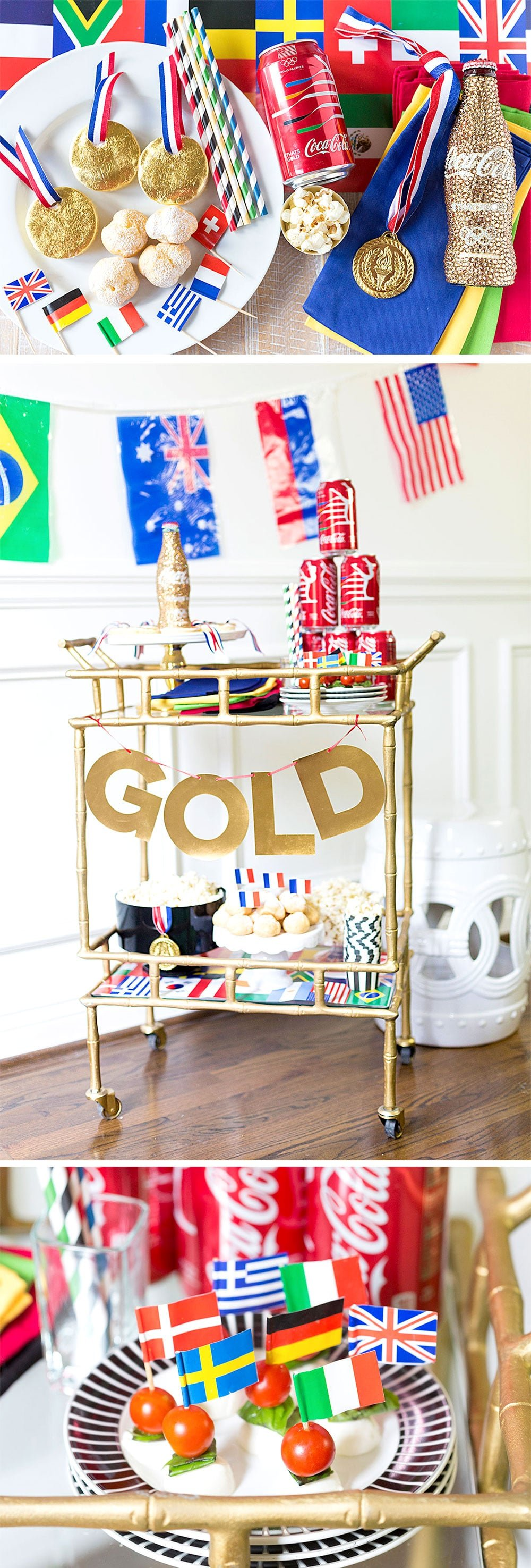 Olympic Games Viewing Party: Ideas for Food, Drinks, and Decorations!