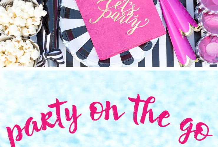 Create a DIY Poolside Party To Go