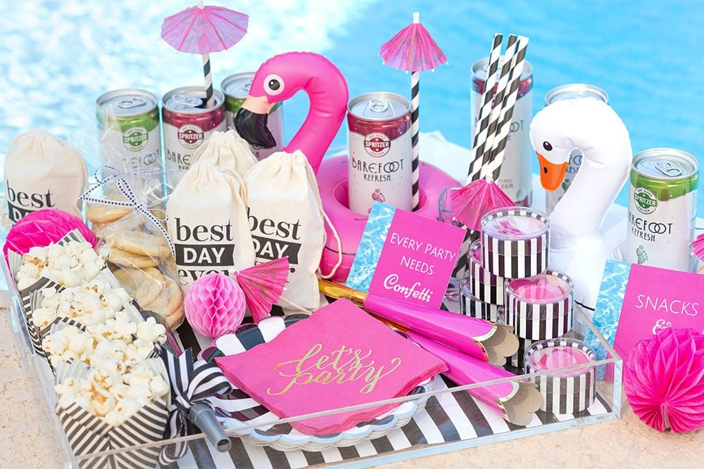 Poolside Party To Go Ideas!