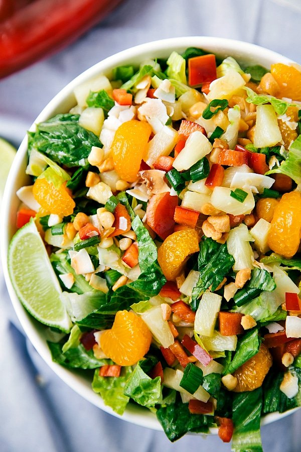 Tropical Salad, perfect for a dinner party!
