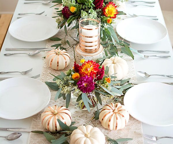 9 Stunning Fall Tabletops to Inspire You