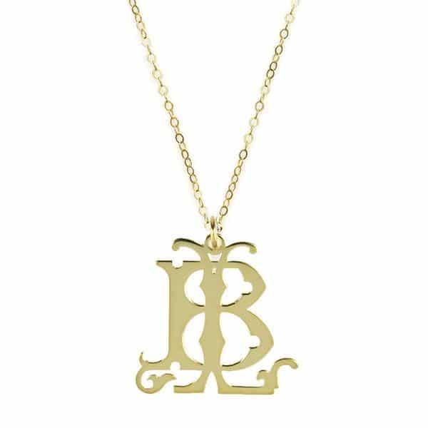 Gorgeous Monogram Necklace