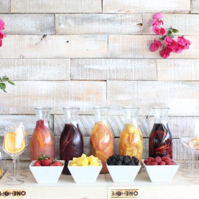How to set up the ultimate Sangria Bar in 5 Easy Steps!