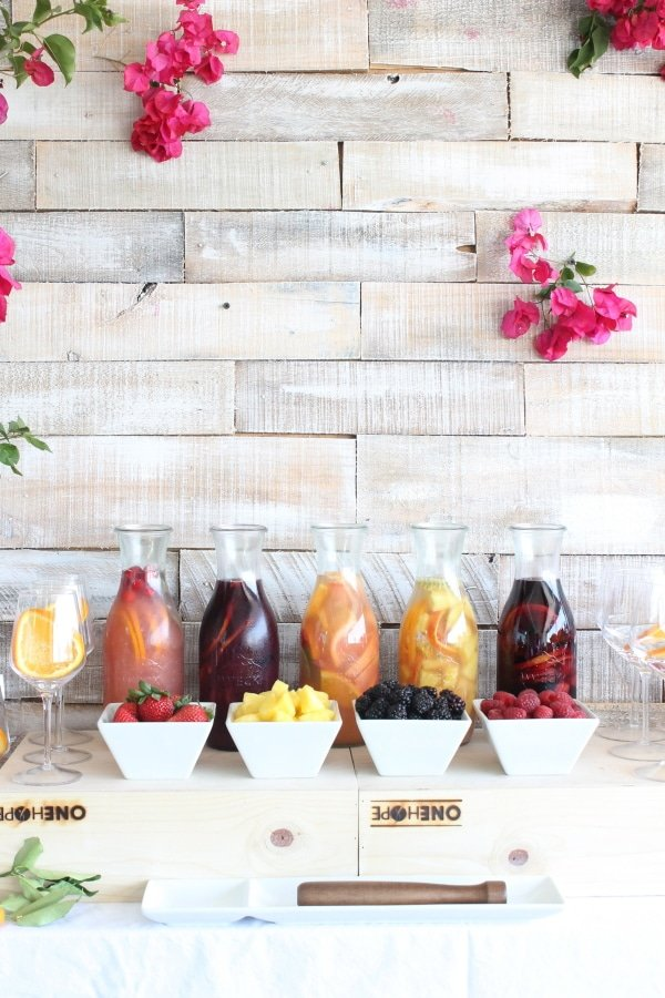 5 Easy Steps to the Ultimate Sangria Bar