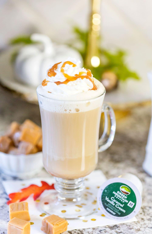 Caramel Vanilla Cream Cafe au Lait
