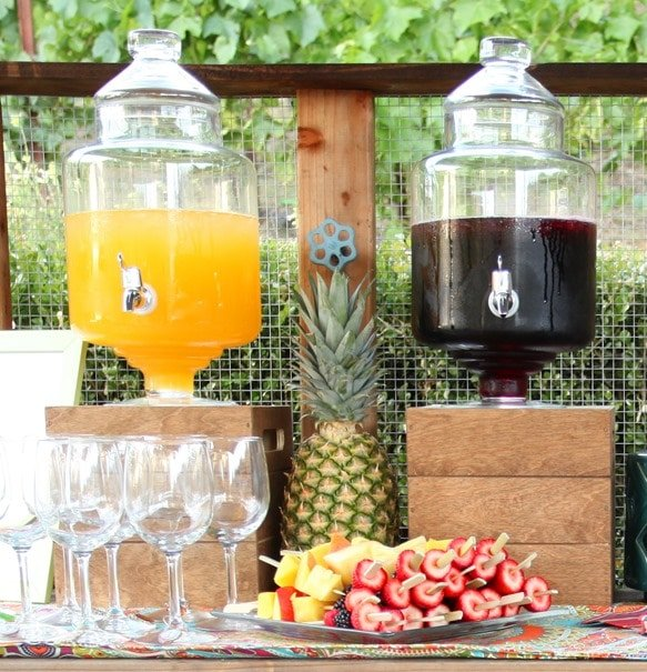 sangria wedding decorations 5 easy steps to the ultimate sangria bar pizzazzerie 7262